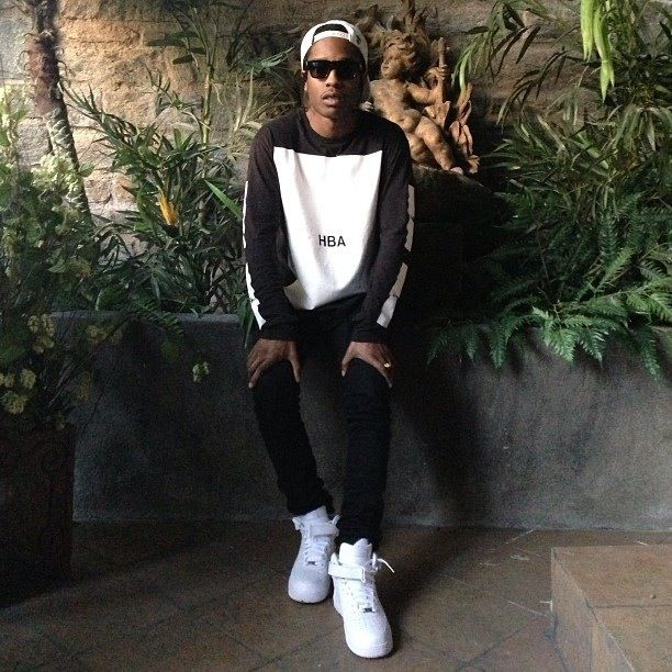 ASAP Rocky <3 obsessed with his style.