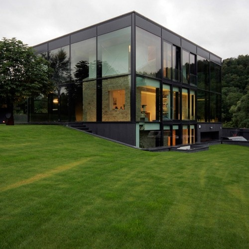Home GardenOld House, Yellow Bricks House, Architecture, Glass Houses, Glasses House, Design, Bureau, Families House, Regions Parks