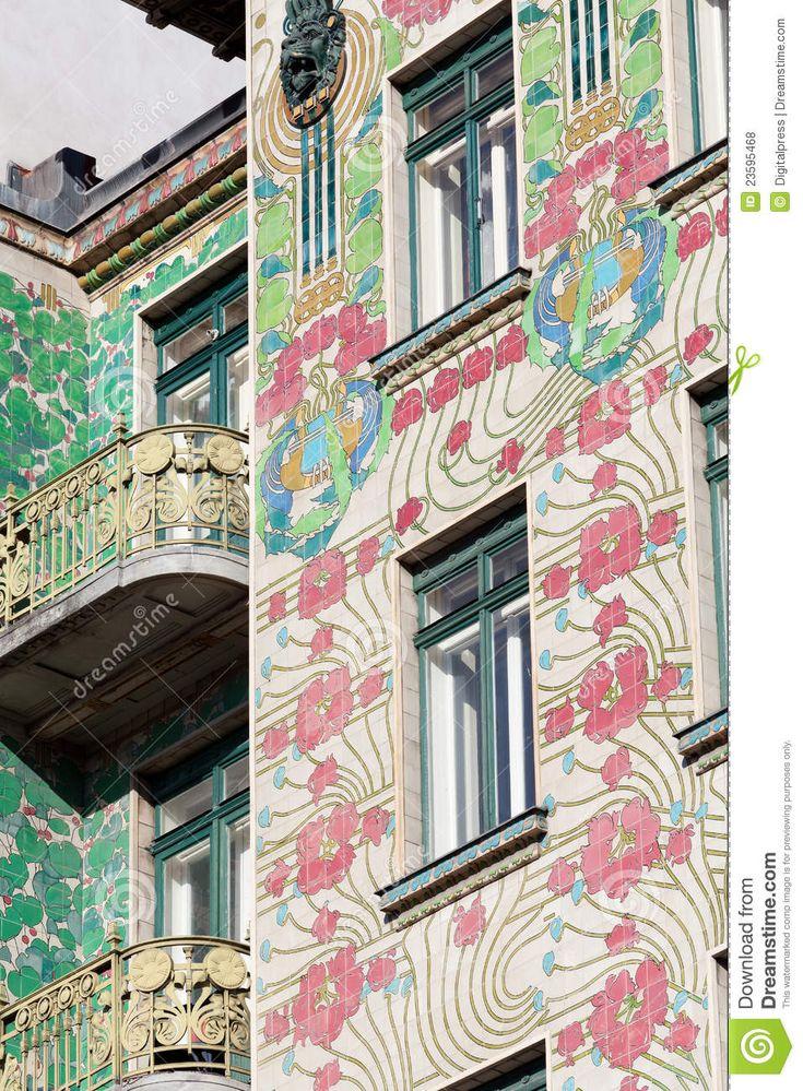 Seattle Map Redmond%0A art nouveau architecture   Otto Wagner architecture  art nouveau   Majolikahaus in Vienna