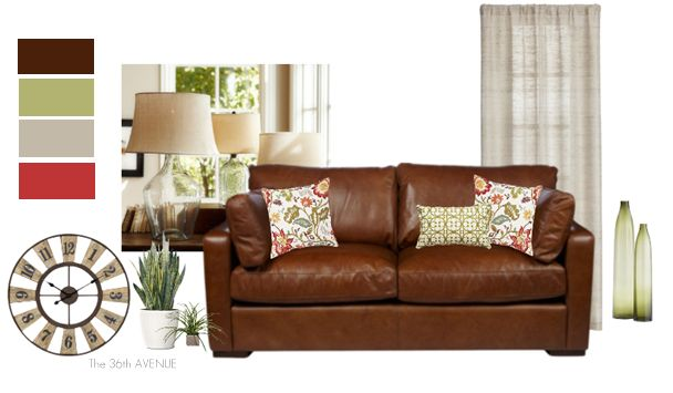 Top 25 Ideas About Brown Sectional Decor On Pinterest