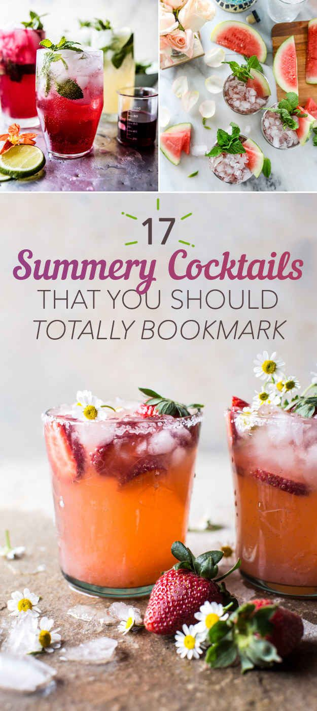 17 Refreshing Cocktails You Need To Make This Summer