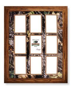 Mossy oak camo background for picture frame