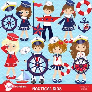 Little Sailor Kids all dressed up ready for a cruise! Coastal cliparts perfect for crafting, making books, cards, invitations, decoratingHave a look at these related products:Coastal Nautical Papers Pink AMB-115Coastal Nautical Sailboat Papers AMB-395Nautical and Beach Cliparts AMB-518Nautical Beach Cliparts in Pink AMB-117Nautical Papers and Backgrounds AMB-112Nautical Papers and Backgrounds AMB-519 Nautical Papers Coastal and Sailing AMB-398Nautical Papers and Backgrounds AMB-399We have…