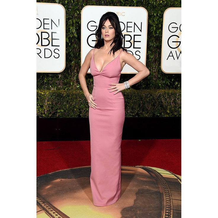 73rd Golden Globe Awards Red Carpet Katy Perry Celebrity Dresses