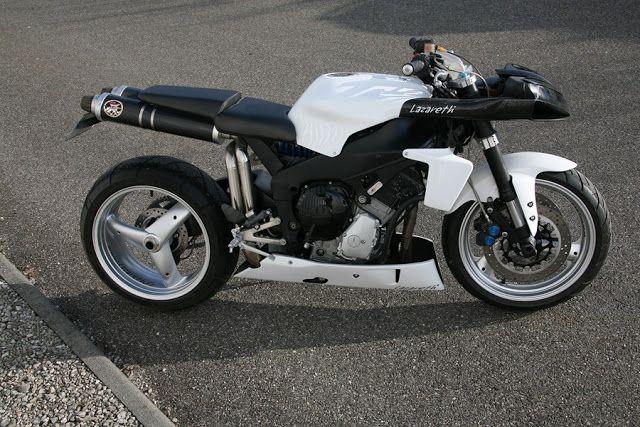 "Racing Cafè: Yamaha YZF-R1 ""Street"" by Lazareth"