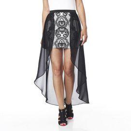 Do & Be™ Woven Python Hi-Lo Skirt - Sears