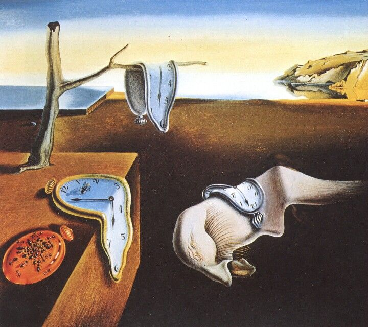 "Salvador Dalì ""La persistenza della memoria"" 1931 Surrealismo"