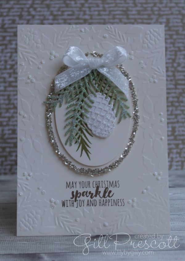 Stampin' Up! Christmas pretty Pines                                                                                                                                                                                 More