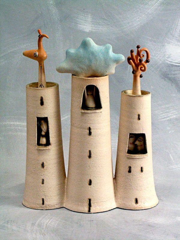 """Tre torri / Three towers"" by La Bottega delle Stelle®"