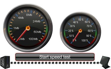 Your internet sucks? Test it with Internet Speed Test. Click here http://www.dslspeedtest.us/comcast-speed-test/