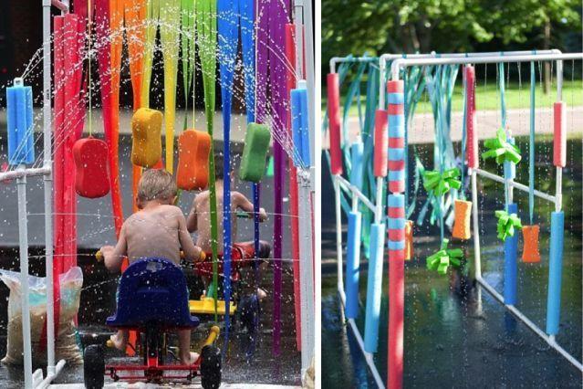 8 activités d'été pour les enfants - Lave-auto amusant pour les enfants - rafraichissant!