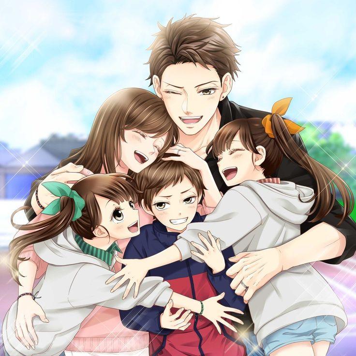 Аниме картинка семья