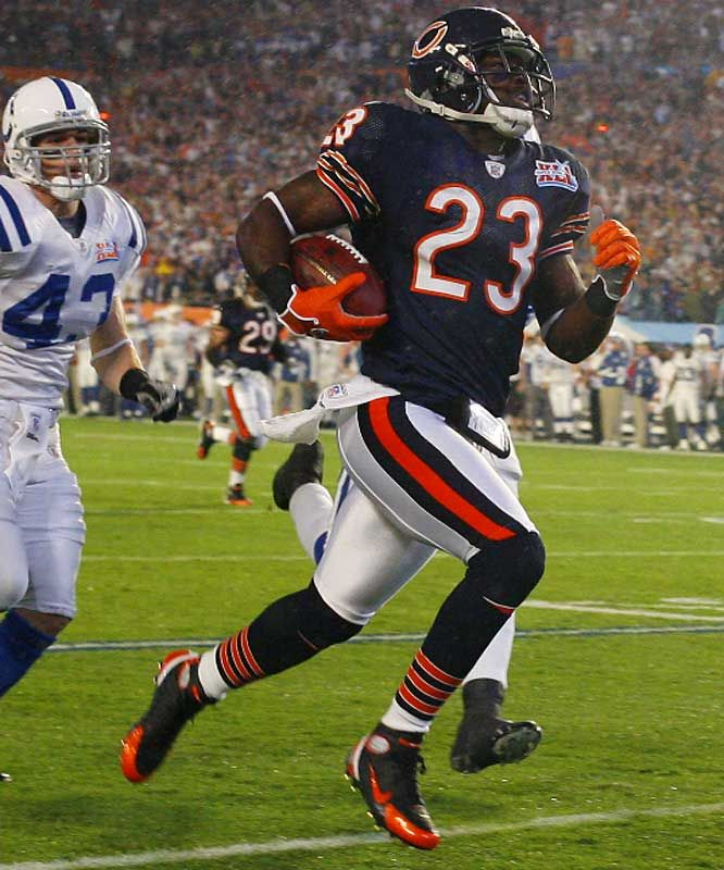 Devin Hester - Finally a team that allowed Devin to do what he was bred to do......RUNNNNNNN!