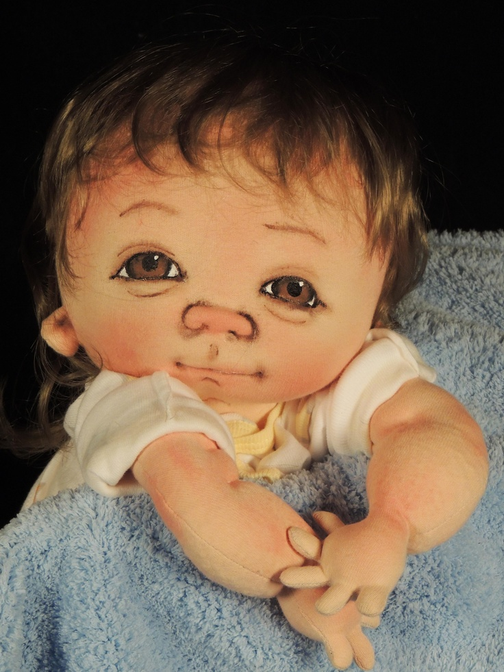 one of a kind by doll artist Jan SHackelford