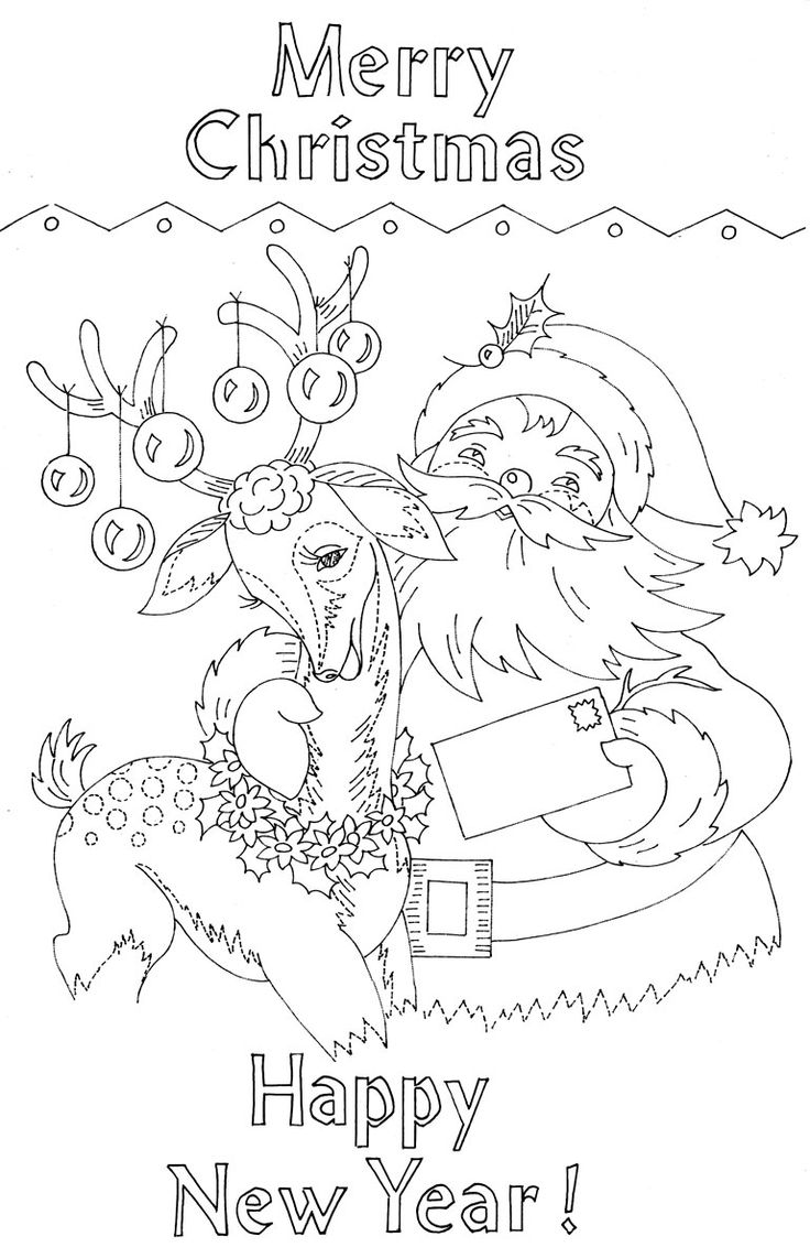 414 best christmas coloring images 2 images on pinterest