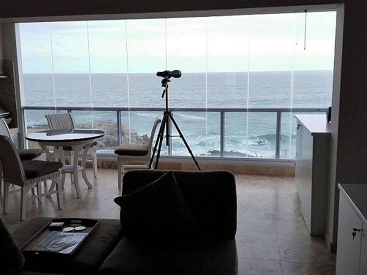 Whale View 9 - Whale View 9 is situated in a coastal town named Hermanus, South Africa. This sea facing apartment can accommodate up to six guests and features a fully equipped kitchen with a stove, an oven, a microwave, ... #weekendgetaways #hermanus #overberg #southafrica