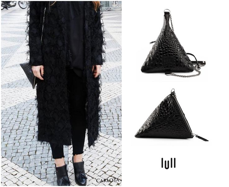 Our Crocodile Bag at the Lisbon Fashion Week. http://www.lull.com.pl/pl/p/Crocodile-Bag/45 …