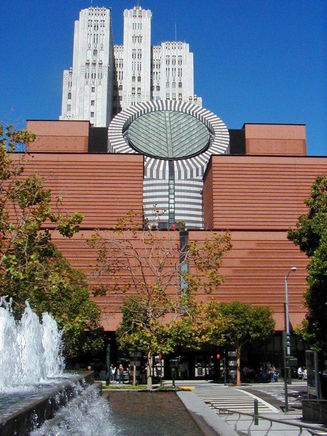 Музей современного искусства в Сан-Франциско. США, Сан-Франциско