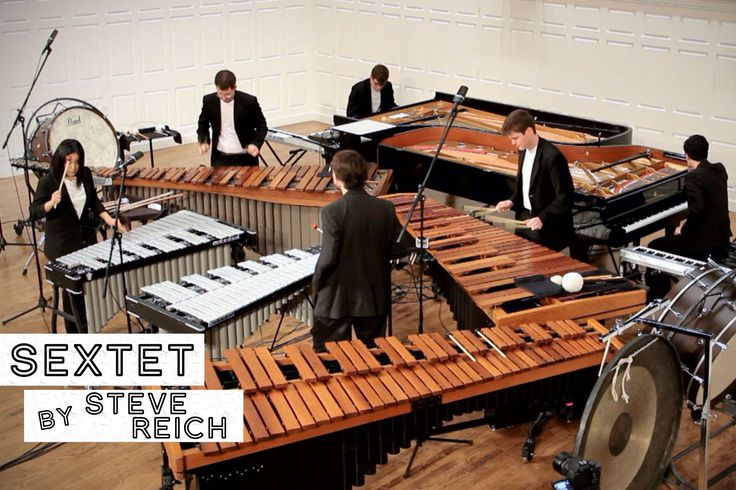 Sextet, by Steve Reich (FULL PERFORMANCE)