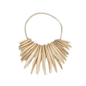 Decorative Cuttle Fish Shell Necklace  ww.st-barts.com.au