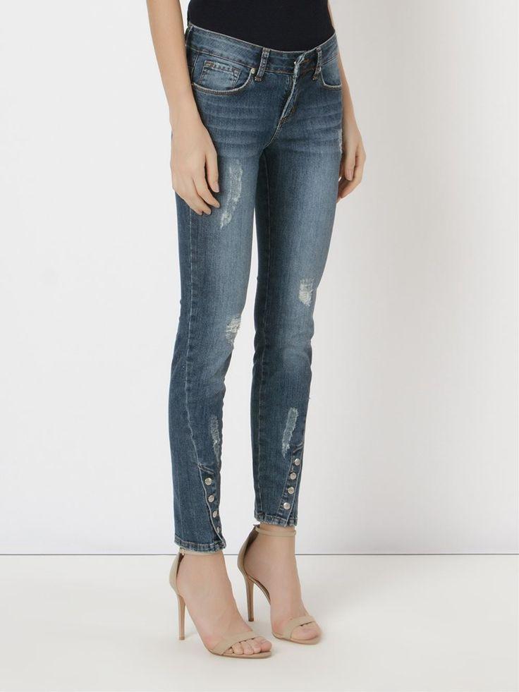 Le Lis Blanc Calça Jeans Skinny - Restoque - Farfetch.com