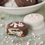 Peppermint patty stuffed Ritz crackers are one of …