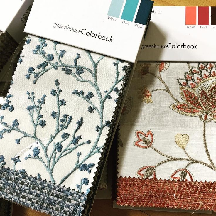 New Greenhouse Fabrics books just arrived . #fabrics #interiorstyling #customdrapes #decor