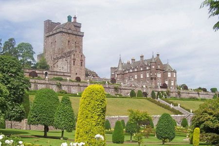 The Drummond Castle and Gardens!