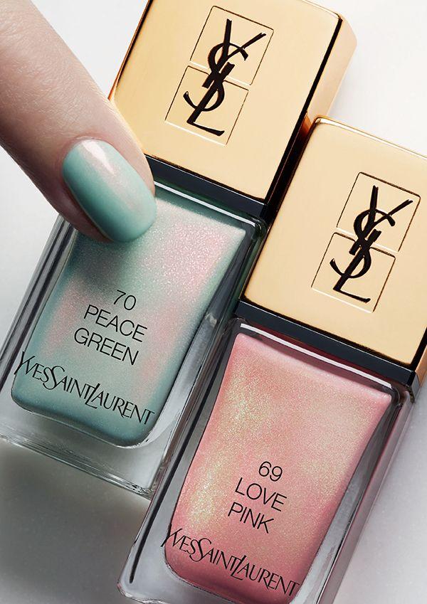 YSL La Lacque Couture Spring Look 2016 Press Visual