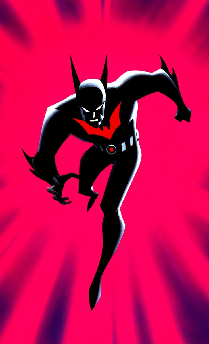 Batman beyond, set in the future I just love the neo-Gotham art and as I have not said this a lot.. characters.