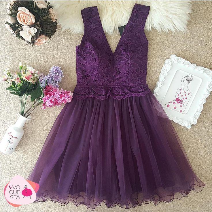 Bridemaid? Say yes. Be a VOGUESTAR! #ultraviolet #bridemaids #dresses