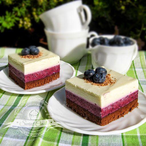 Ciasto jagodowo-waniliowe | Świat Ciasta