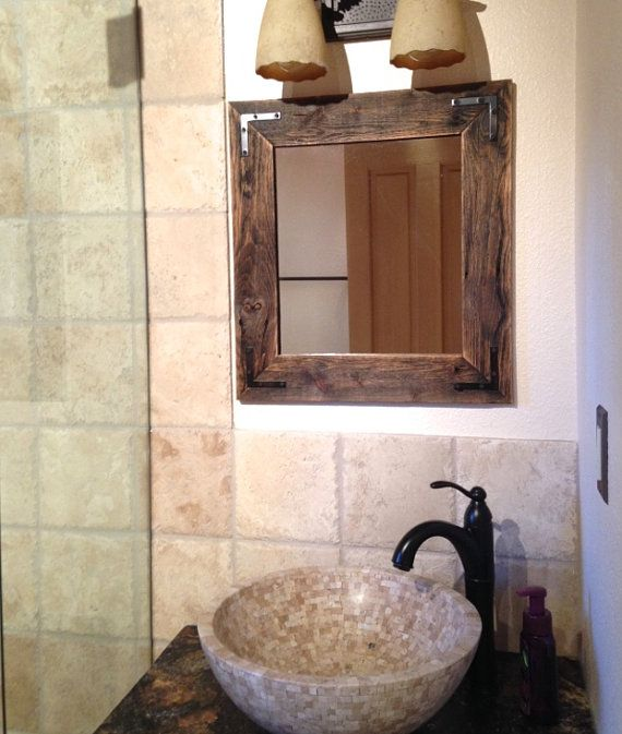 15 Best Images About Mirrors On Pinterest Rustic Wood Rustic Powder Room And Rustic Cabin