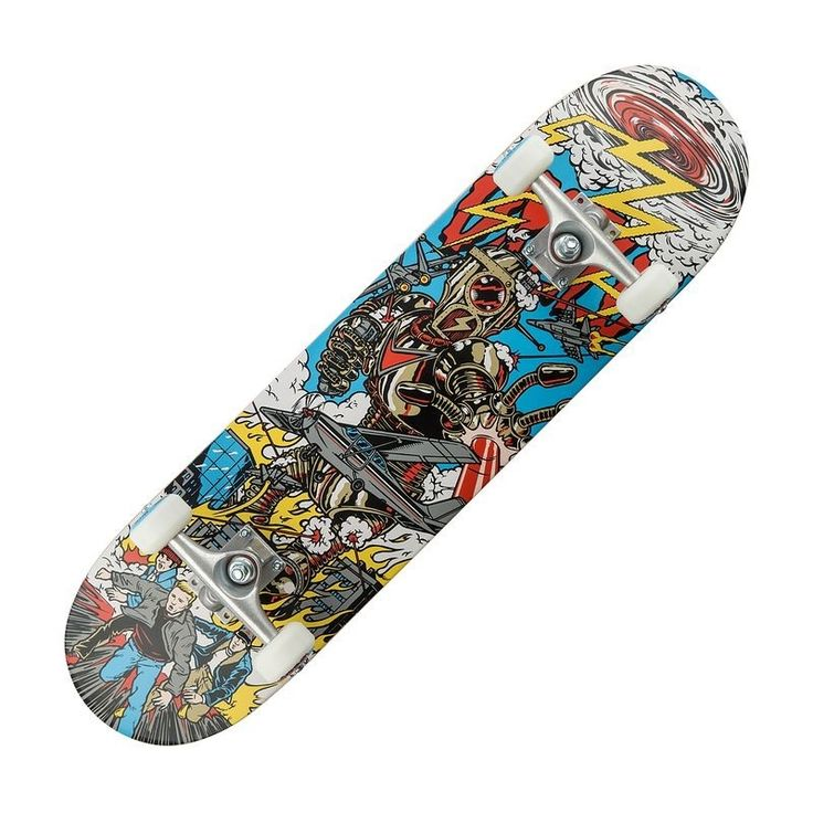 Check out our New Product  Mid 5 Robot Skateboard in Mixed colours COD •7 ply glued, laminated, wood deck, 50 percent Canadian maple. Aluminium trucks•Deck size: 31 X 7.75 inches. PU 92A rubber truck.•ABEC5 bearings. 54 mm wheels with 92A hardness  ₹3,777