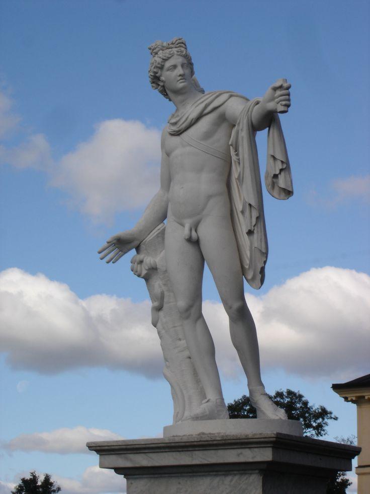 Apollo di Belvedere, en italiensk kopia av orignalskulpturen. Photo: Lillemor Brink