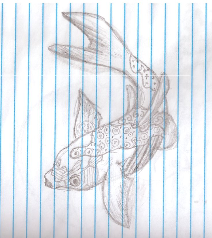 Day 2 of the challenge. So it was sopposed to be a 'Zentangle Flower' But I thought that'd be to chaotic for me to do so I did a Koi fish instead. ;w; I was going to do a Beta but those things are hard to draw X'D This is actually the first(second including the Beta) drawing of a fish I did i'm actually kind of proud >w<
