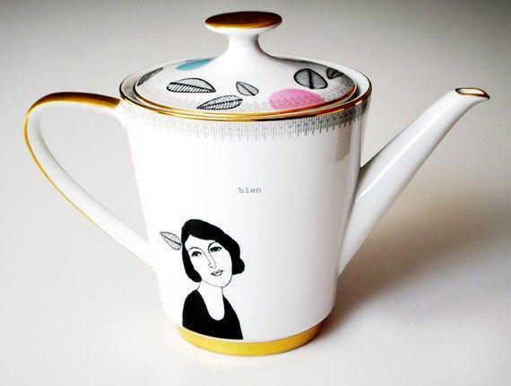 Reclaimed Teapot by Celinda Versluis