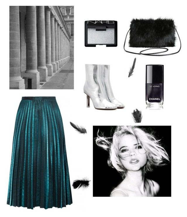 """""""Green"""" by annelenelala on Polyvore featuring Vetements, Torrid and NARS Cosmetics"""