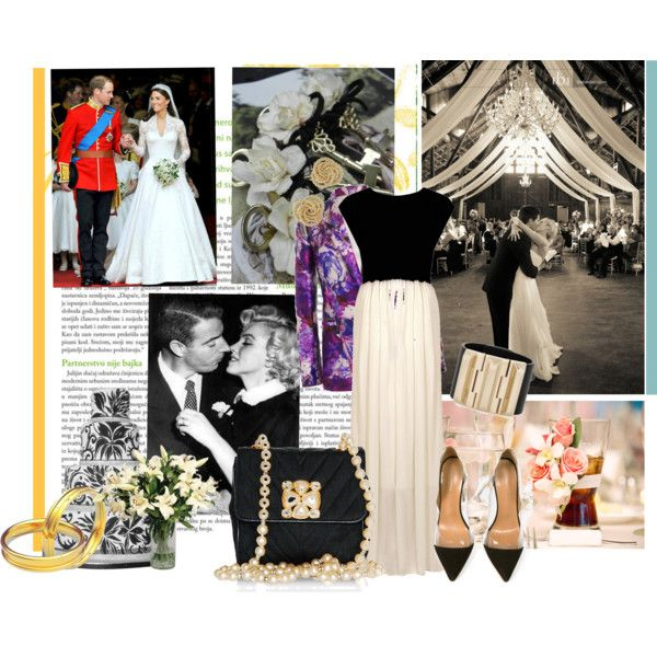 Black Tie Wedding Guest, created by sd0105 on Polyvore