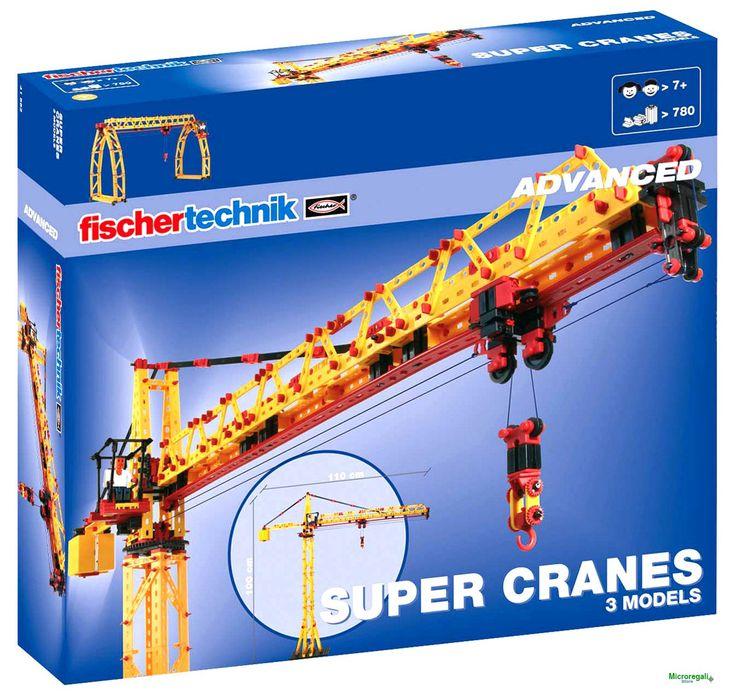 FischerTechnik 41862 Super Gru 3 modelli per bambini. Età 7 A +