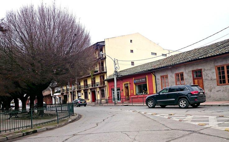 Santa Cruz Chile | Sector Plaza de Armas y Hotel Plaza