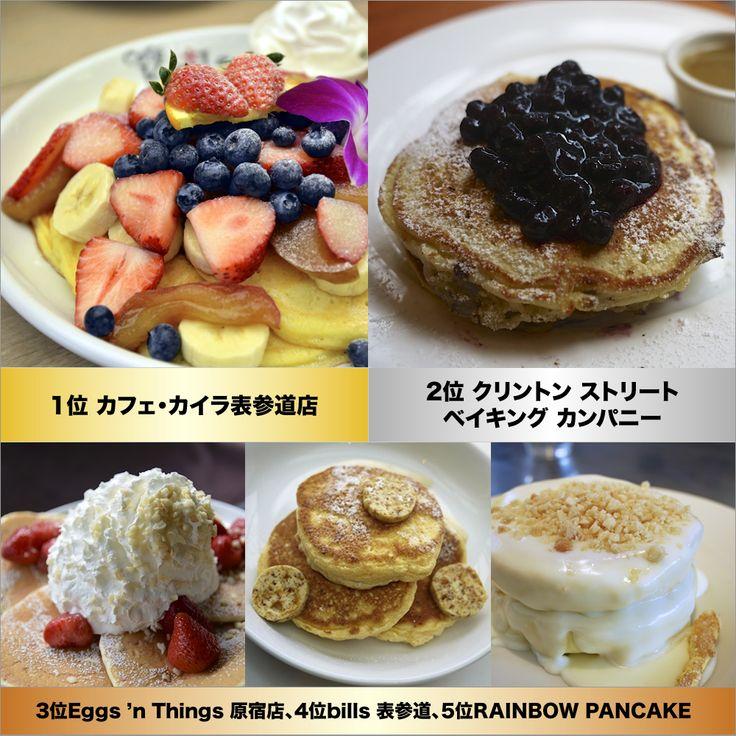 パンケーキ人気店ランキング2014 by イード