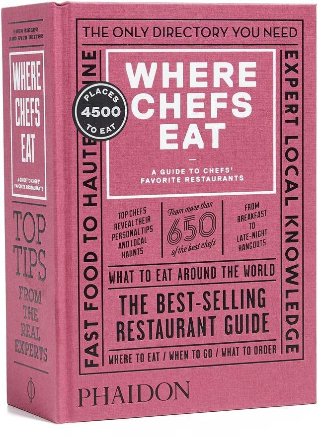 Where Chefs Eat Book   Book(worm)s & Mags (MagaZines