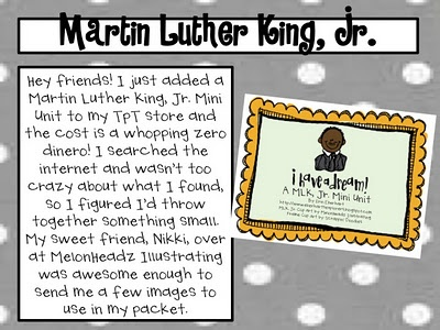 MLK, Jr. Mini Unit!