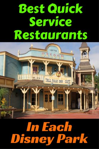 Make a list of the Best Quick Service Restaurants In Each Disney Park so you can make the most of your dining experience. Here are my favorites: Magic Kingdom – Pecos Bill Tall Tale Inn and Cafe in Frontierland has Tex Mex food including a taco burger, fajitas and nachos. Visit the topping bar to add …