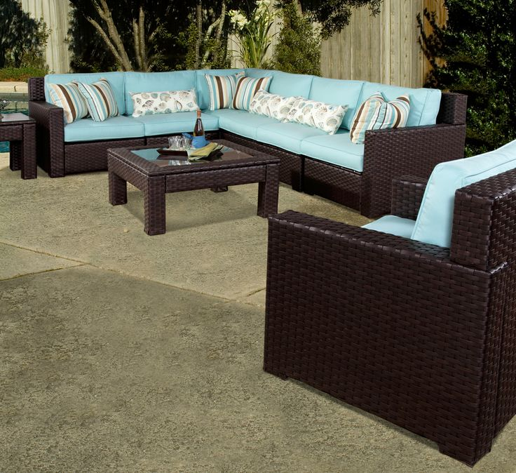 Tuscany Patio Wicker Furniture From South Sea Rattan