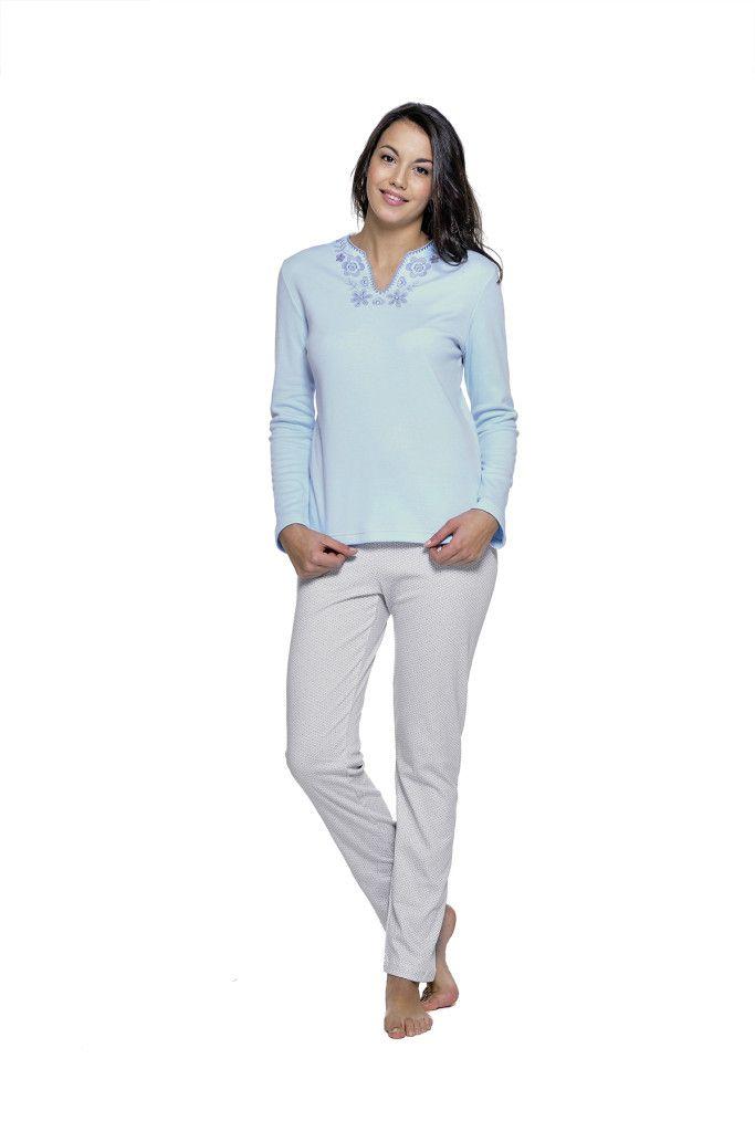 rebajas en moda íntima pijama para mujer otoño invierno belty