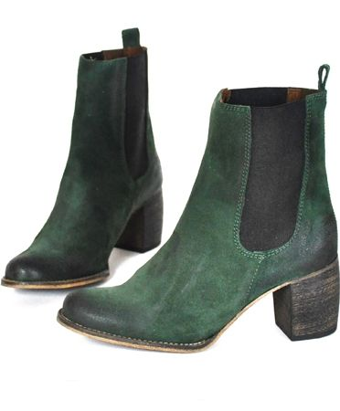 jeffery campbell green suede areas boots. the shoes i want more than any other shoe currently..... please trevor?