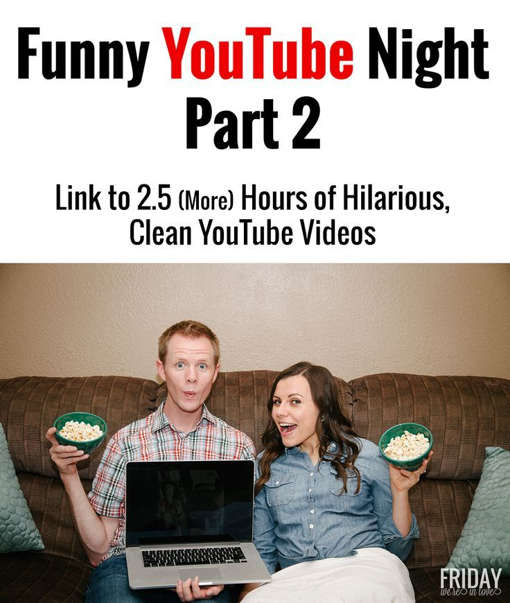 Funny YouTube Night Part        More Hours of Hilarious  Clean YouTube Videos Pinterest
