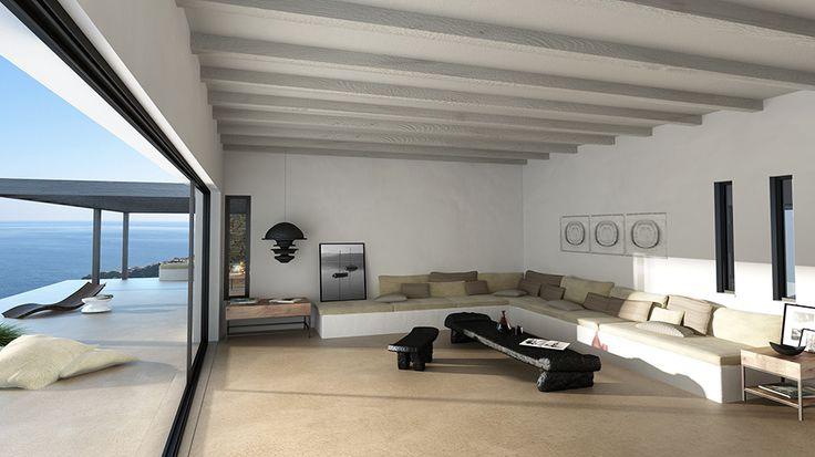 Summer house in Tinos #summerhouse #greece #architecture #interiordesign #interior #ideas #design #mediterranean Learn more: http://kontodimas.com/projects_s12.html